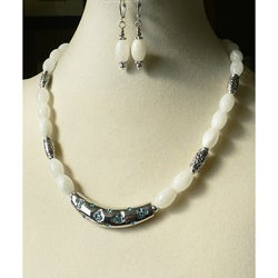 'Glacier Bay' Necklace and Earring Set