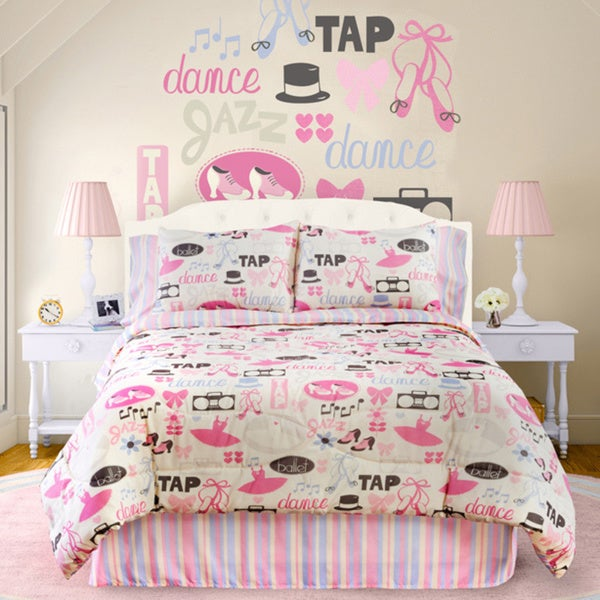 Dance Princess 4-piece Queen-size Comforter Set