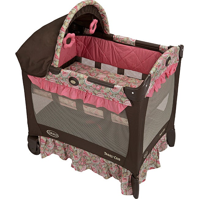 Graco Travel Lite Crib in Jacqueline