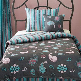 French Quarter Reversible 6-piece Duvet Cover and Insert Set
