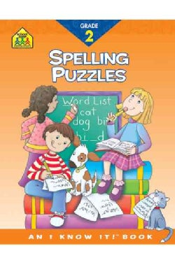 Spelling Puzzles: Grade 2 (Paperback)