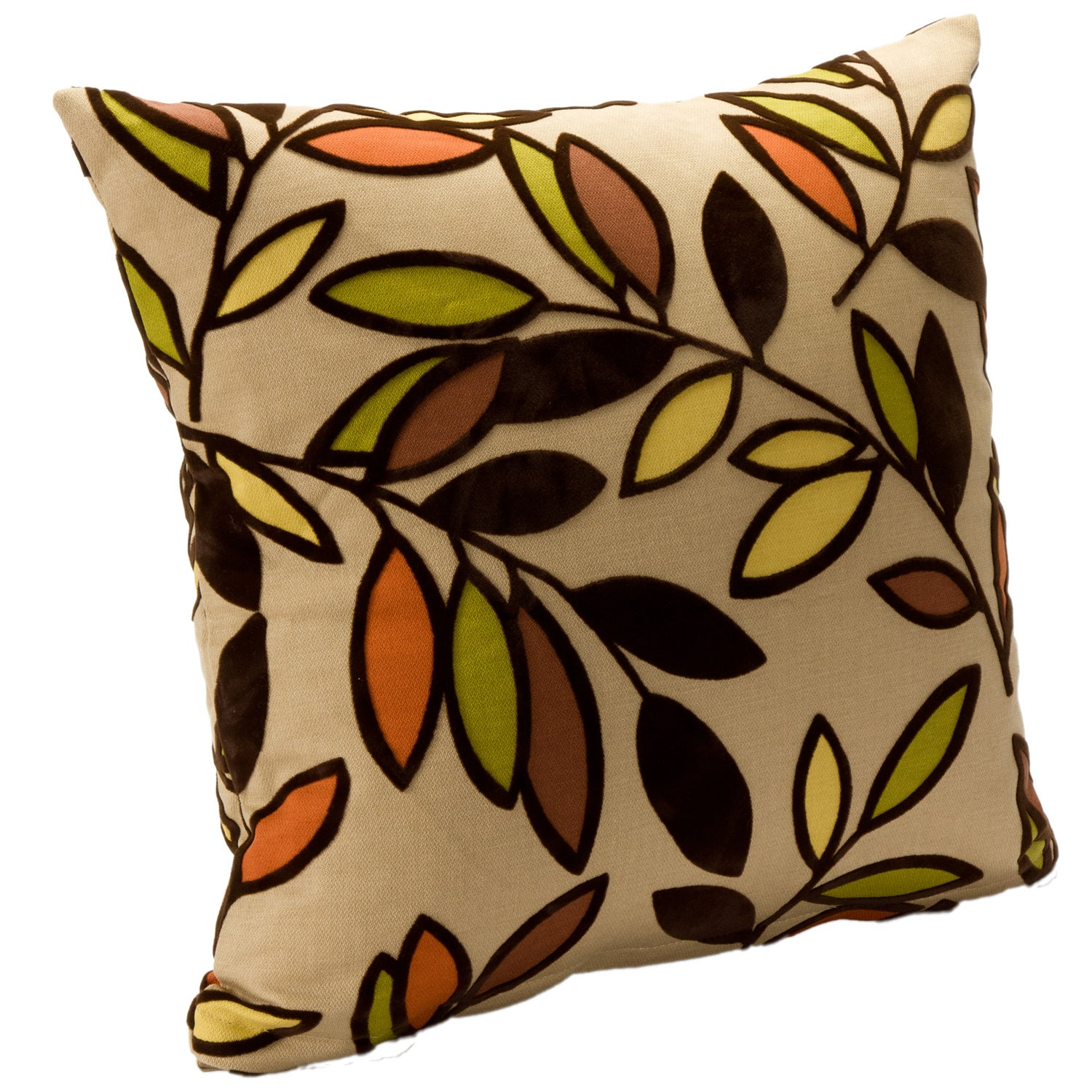 Contemporary 'Kirby Jewel' Square Accent Pillow