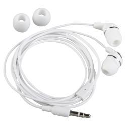 INSTEN 2-piece White In-ear Stereo Earbud Set for Apple iPod