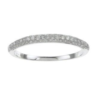 Beverly Hills Charm 10k White Gold 1/3ct TDW Diamond Ring