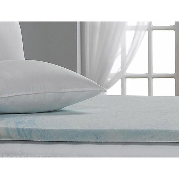 "Where Can I Buy Zippered Cover And Two Classic Comfort Pillows Included With  compare suggested foam set 8.5"": 3"" memory foam, 2.5"" medium, 3"" firm, twin   Cal-King 1 Inch Soft Sleeper 5.5 Visco Elastic Memory..."