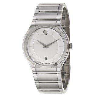Movado Men's 606479 Classic Stainless Steel Watch