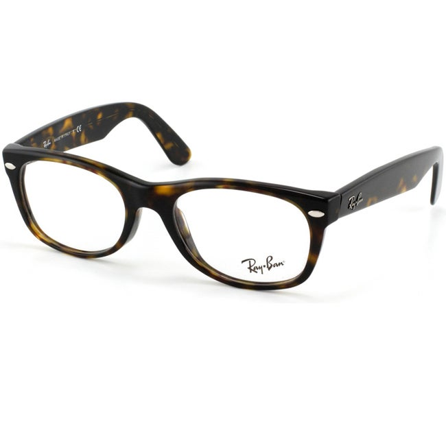 Optical Glasses Deals : Ray-Ban RX 5184 New Wayfarer 50-mm 2012 Havana ...