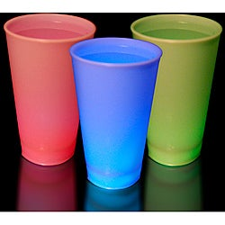 Multicolor LED Glow Cups (Set of 12)