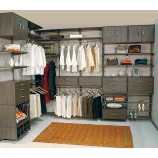 Organized Living freedomRail Driftwood Big O-Box 3-drawer Cabinet
