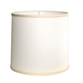 Off-White Drum Indoor Lampshade