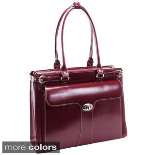 McKlein Women's Quincy Leather 15.4-inch Laptop Tote