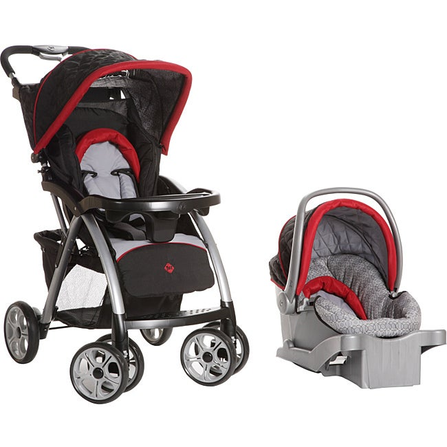 Safety 1st Saunter Luxe Travel System in Rosehill
