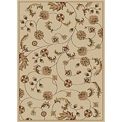 Amalfi Vines Ivory Area Rug (7'9 x 11')