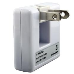 INSTEN Universal White USB Travel Charger for Apple iPod