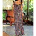 Rayon 'Bali Empress' Batik Dress (Indonesia)