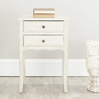Safavieh Sete White Accent Table
