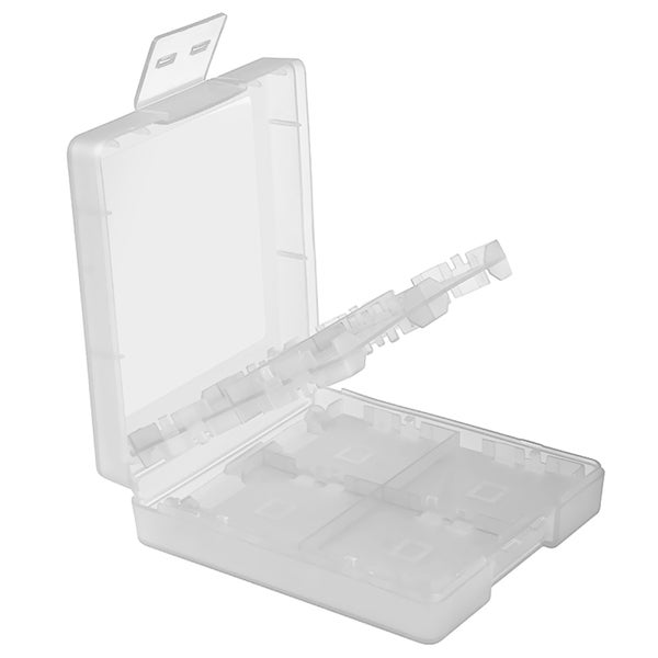 INSTEN White 16-in-1 Game Card Case Cover for Nintendo DS Lite