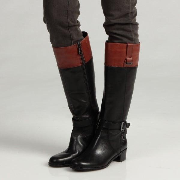 Bandolino Women's 'Cazadora' Leather Riding Boots FINAL SALE