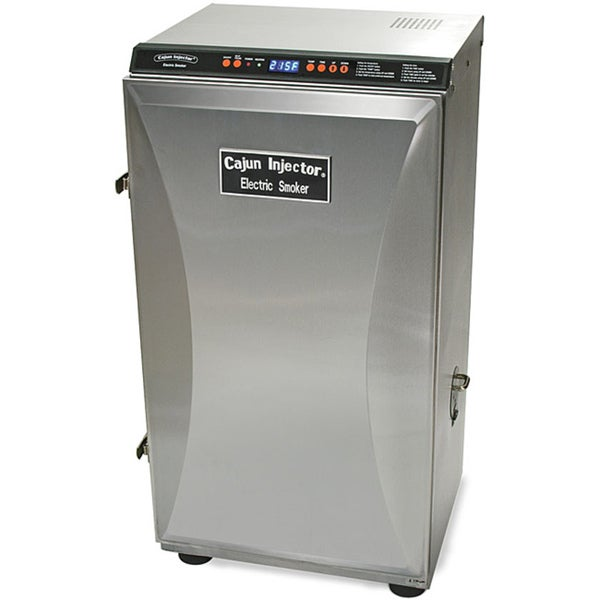 Stainless Steel Electric Smoker Overstock Shopping
