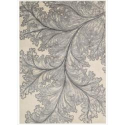Nourison Utopia Ivory Abstract Rug (7'9 x 10'10)
