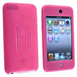 INSTEN Hot Pink Soft Silicone iPod Case Cover for Apple iPod Touch Generation 2/ 3