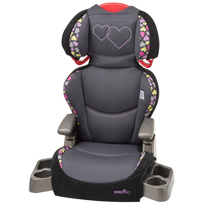 Evenflo Big Kid LX High Back Booster Car Seat in Amelia
