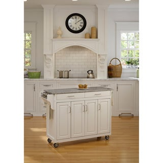 Create-a-Cart White Granite Top