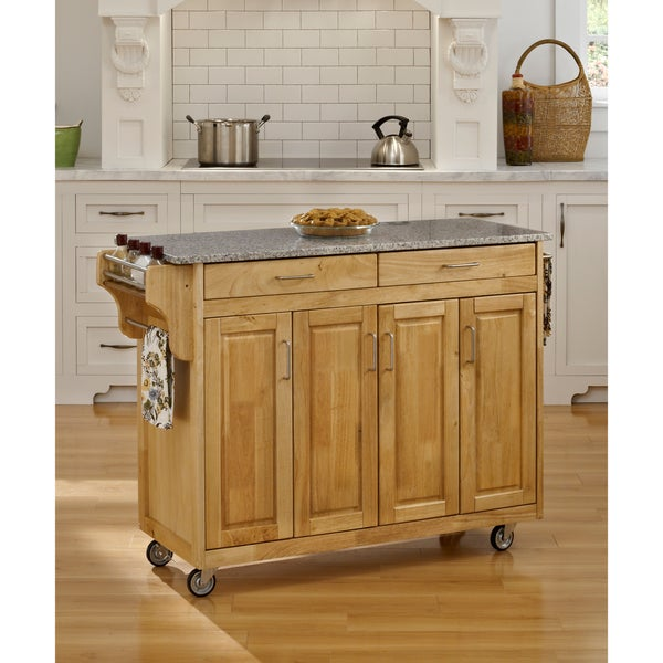 Create-a-Cart Natural Granite Top Cart