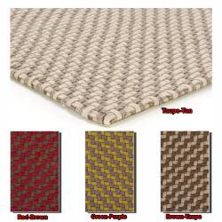 Handwoven Mandara Wool Area Rug (7'9 x 10'6)