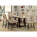Bailey 7-piece Counter-height Espresso Dining Set