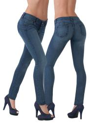 Women's Booty Enhancing Stretch Skinny Jeans