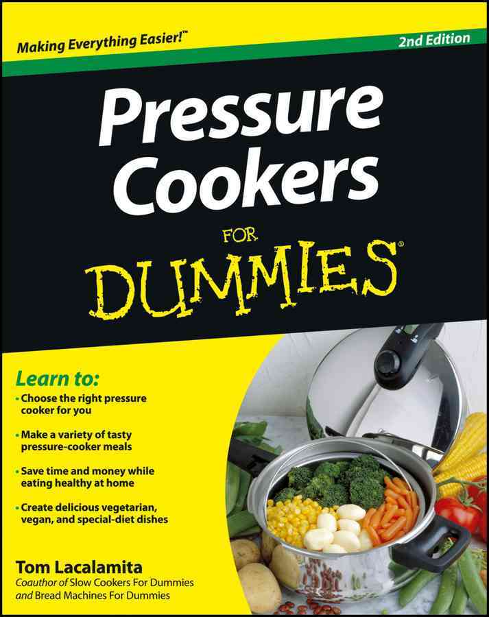 Pressure Cookers for Dummies (Paperback)
