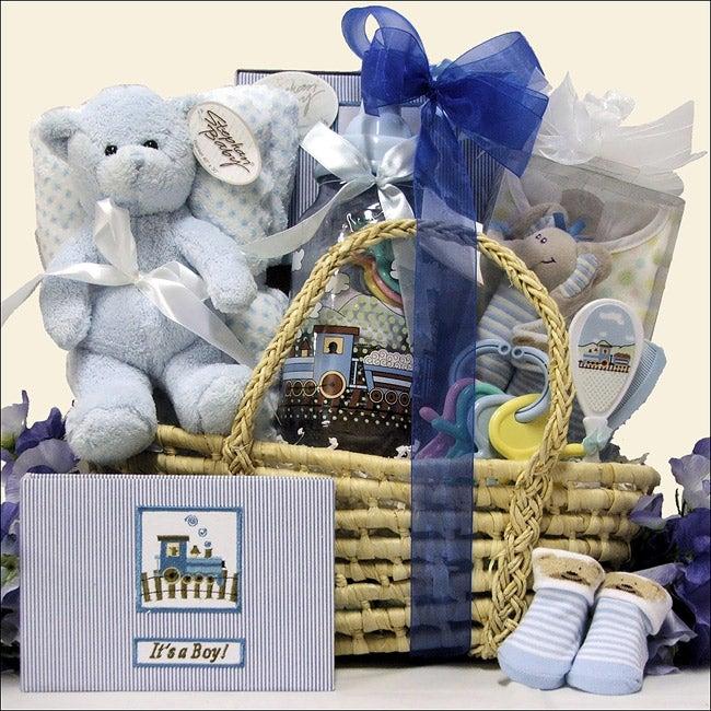 Baby Boy Essentials Gift Basket