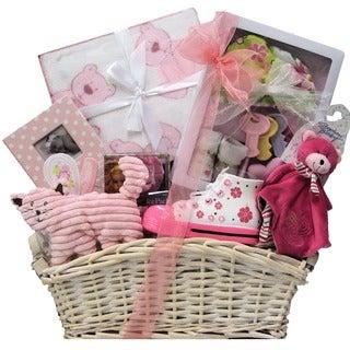 Beautiful Baby Girl Gift Basket