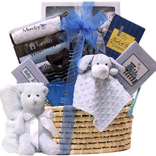 Welcome Home Baby Boy Gift Basket