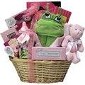 Congratulations Baby Girl Gift Basket