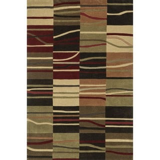 """Hand-Tufted Chalice Multi Rug (7'9"""" x 9'9"""")"""