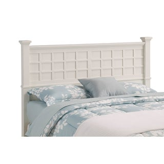Arts Crafts White Queen/Full Headboard