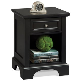 Home Syles Bedford Black Night Stand
