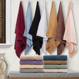 Simple Elegance Superior Collection Luxurious Egyptian Cotton 3-piece Towel Set