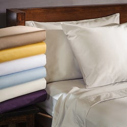 Luxor Treasures 1000 Thread Count Cotton Blend Wrinkle-Resistant Pillowcases (Set of 2)