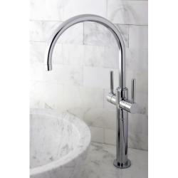 Vessel Sink 18.75-inch Chrome Bathroom Faucet