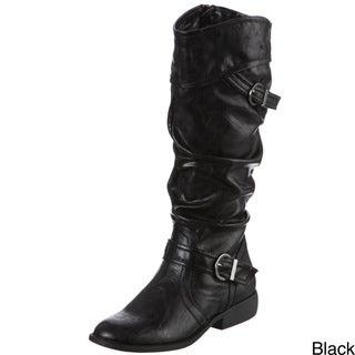 White Mountain Women's Locket Mid-calf Boots