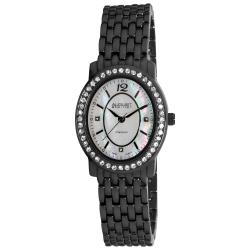August Steiner Women's Dazzling Diamond Oval Bracelet Watch