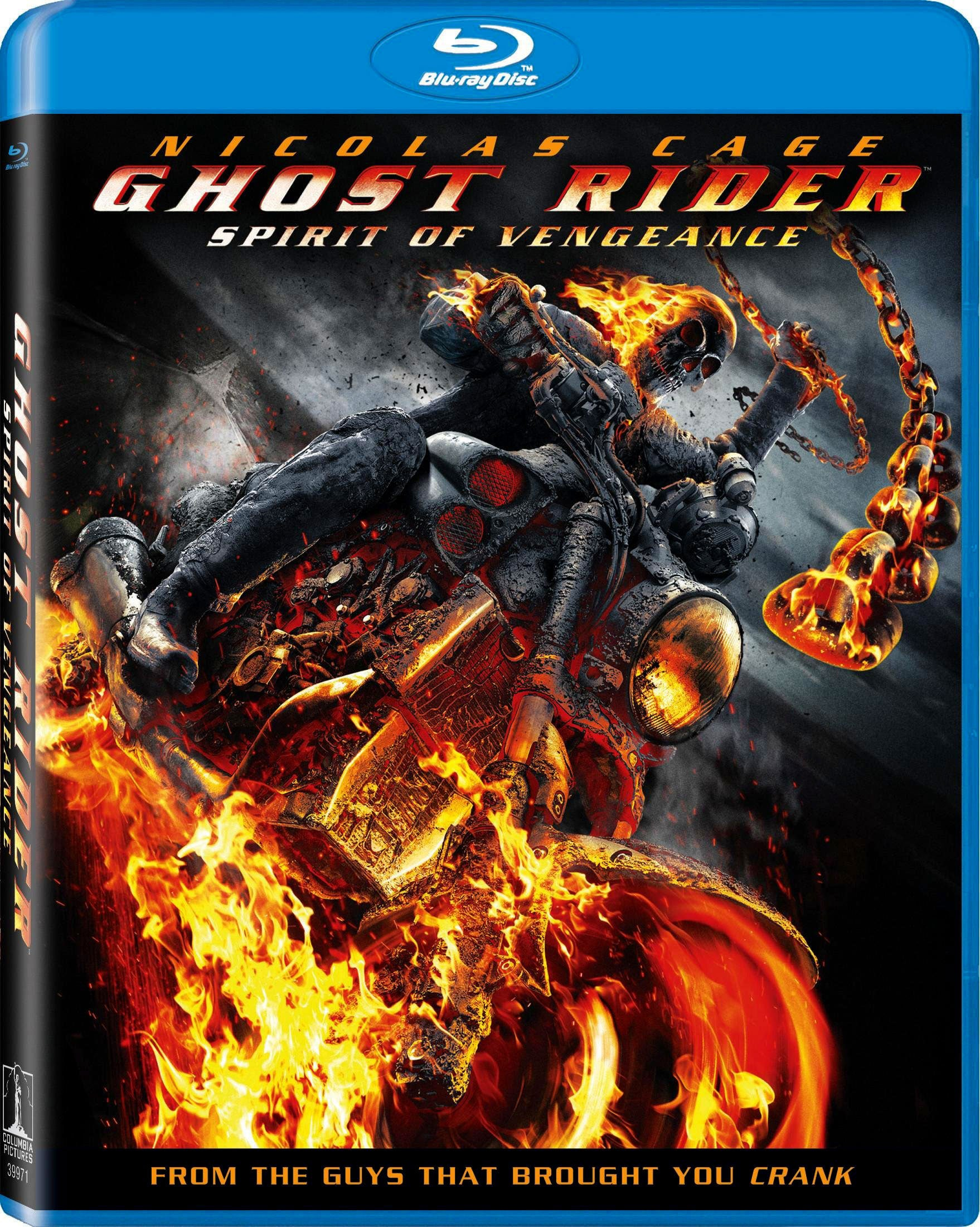 Ghost Rider: Spirit of Vengeance (Blu-ray Disc)