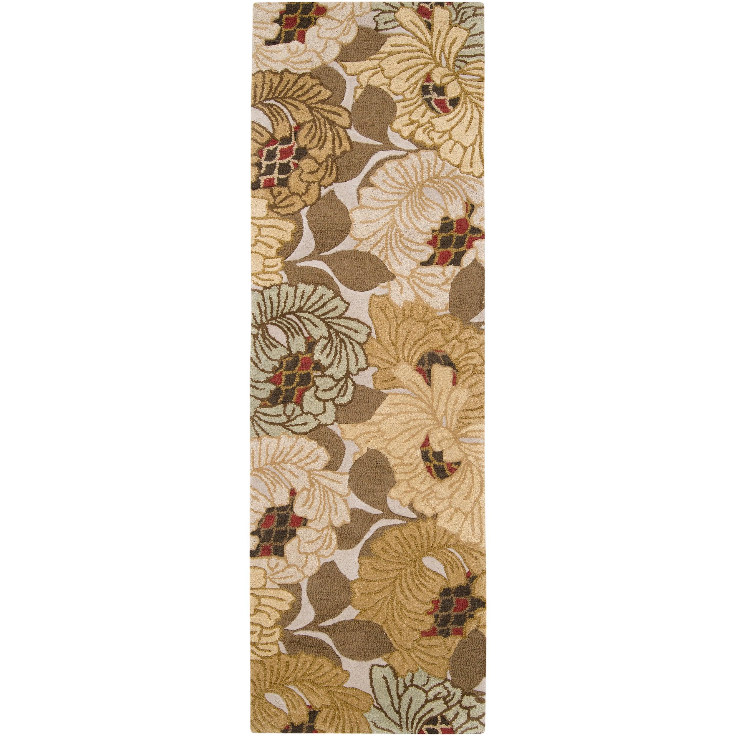 """Hand-tufted Wishaw Wool Rug (2'6"""" x 8')"""