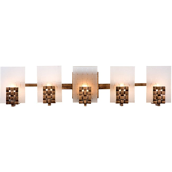 Bathroom Vanity Lights Overstock : Varaluz Dreamweaver 5-light Bath Light - Overstock Shopping - Top Rated Varaluz Sconces & Vanities