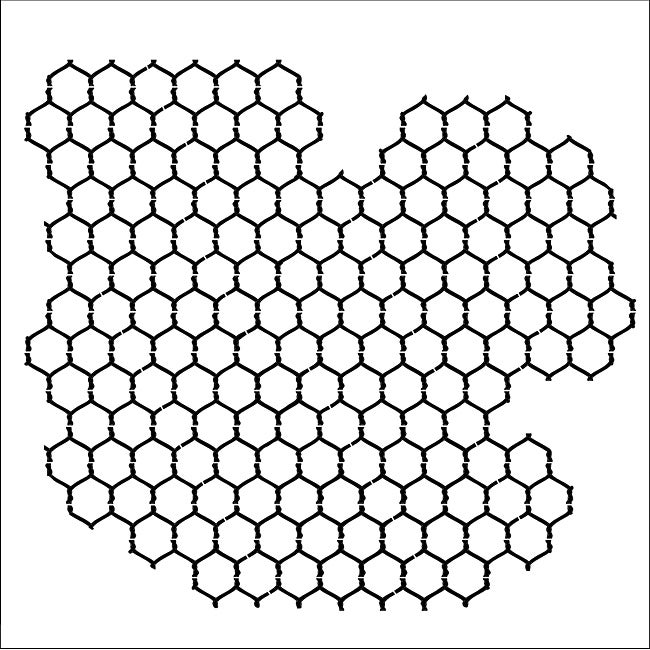 Crafter's Workshop Chickenwire Reversed 6x6 Templates