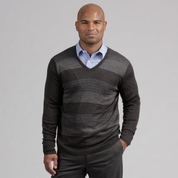 Calvin Klein Men's Wool Blend V-neck Sweater
