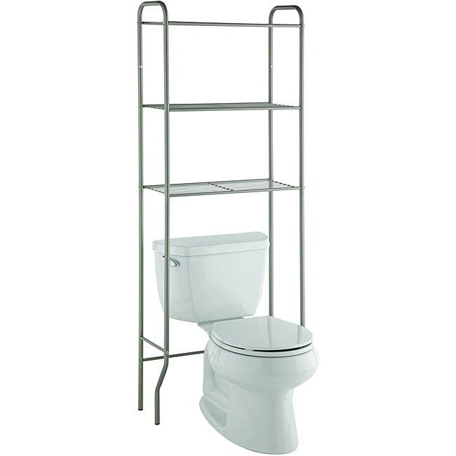 space saver three shelf bathroom shelf taymor modern space saver